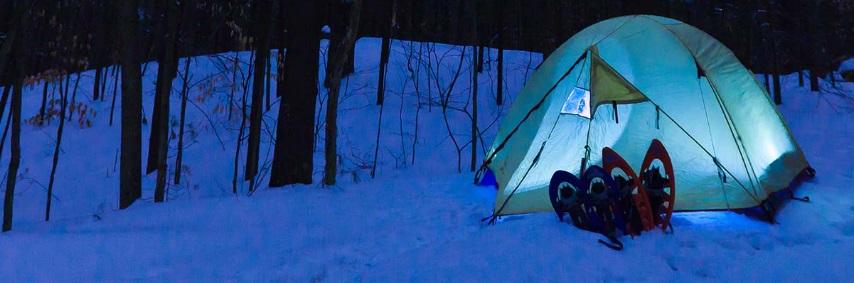 Expérience insolite : le camping d'hiver en Haute-Savoie